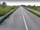 Il cavalcavia che lungo la Provinciale 662 attraversa l'autostrada Asti-Cuneo
