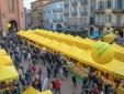 Un mercato di Campagna Amica ad Alba