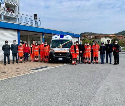 La Croce Bianca di Ceva ha una nuova ambulanza