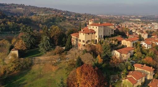 Castello della Manta, foto Eurodrone Flight Systems