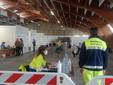 Saluzzo, nuovo centro vaccini al PalaCrS, interno