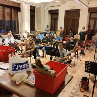 I musicisti del Corpo Bandistico Alta Valle Tanaro tornano a suonare insieme