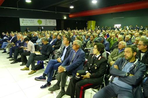 Il numeroso pubblico che ha preso parte al convegno di Cherasco