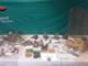 Il materiale sequestrato dai Carabinieri Forestali