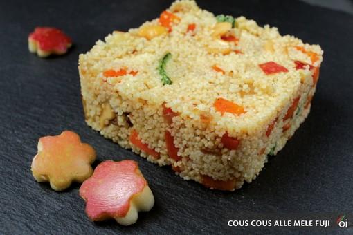 MercoledìVeg: oggi prepariamo il delizioso cous cous alle mele Fuji con la mela rossa Cuneo IGP