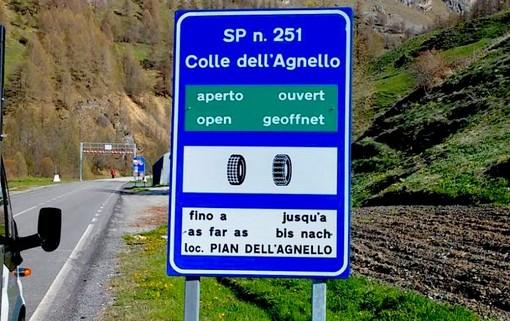 La SP251 del Colle dell'Agnello