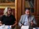 Giuliana Cirio e Mauro Gola, rispettivamente direttrice e presidente di Confindustria Cuneo