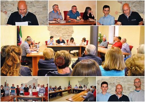 Le immagini del Consiglio comunale di Oncino