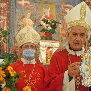 Le immagini della celebrazione nel santuario di San Chiaffredo, a Crissolo