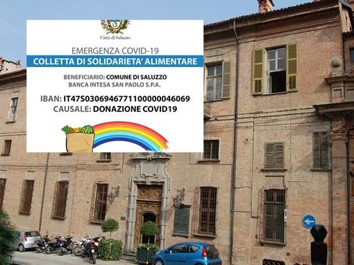 Il comune di Saluzzo ha aperto una colletta di solidarietà alimentare per sostenere concittadini in difficoltà nell'emergenza Covid 19