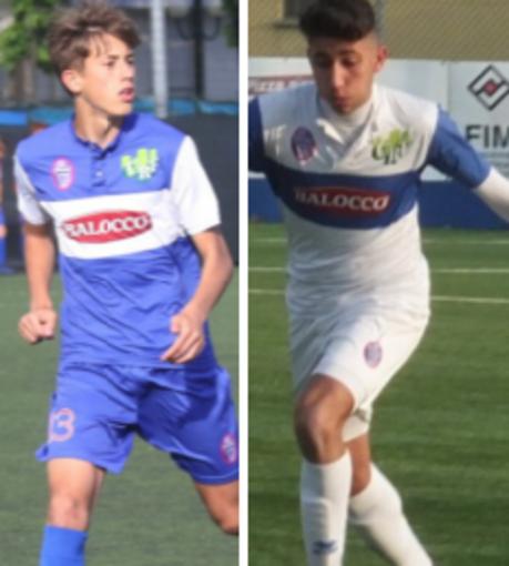 Matteo Cavallera e Mattia Giordano - foto da sito Fossano Calcio