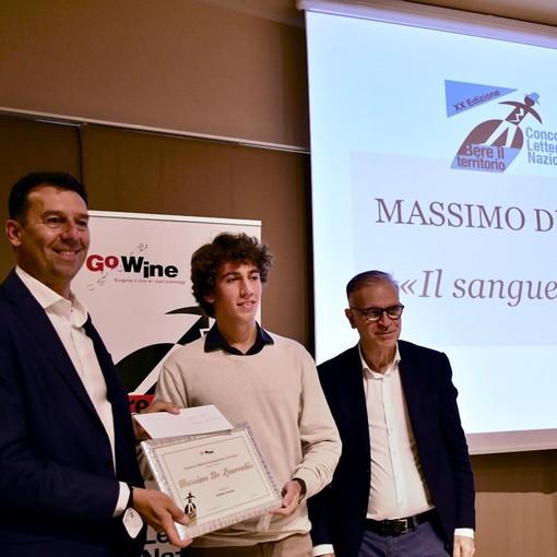 La premiazione di Massimo de Laurentiis
