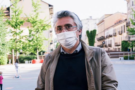 Il sindaco albese Carlo Bo (foto Barbara Guazzone)
