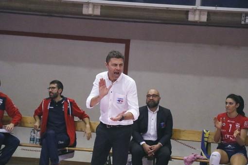 Il tecnico Davide Delmati (foto Luciano Pecchenino)