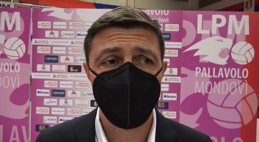 L'allenatore Davide Delmati
