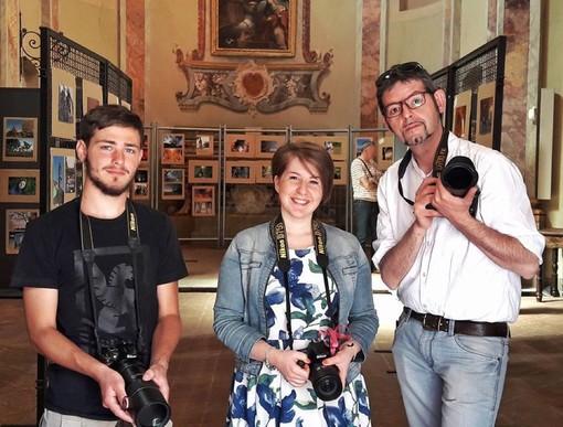 Il Dna Roero: da sinistra Umberto Allerino, Paolo Destefanis e Francesca Nervo