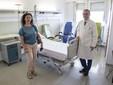 Il Dottor Alessandro Morelli con Elisa Pirro Ph_Foto Ferrero