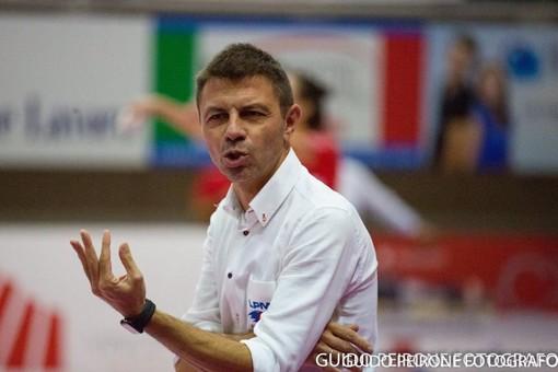 Il tecnico Davide Delmati (foto Guido Peirone)