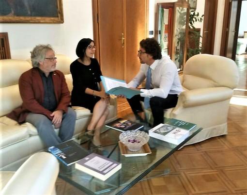 L'incontro tra Dadone, Campo ed il ministro Toninelli