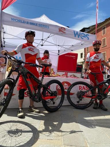 Raspini protagonista della prima tappa italiana del WES world E-bike Series