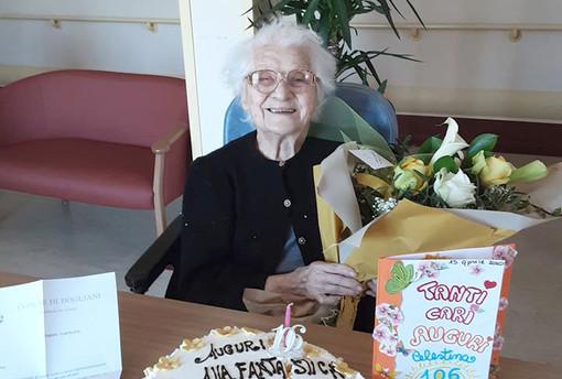 "Celestina ""Tina"" Ghigliani, è nata il 15 aprile 1914 nella frazione Ghigliani di Clavesana"