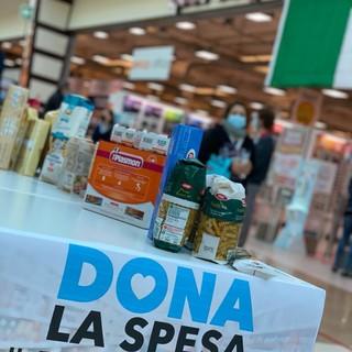 """Solidarietà: Con """"Dona la spesa"""" raccolti a Mondovì 1.300 Kg di beni di prima necessità per le famiglie bisognose"""