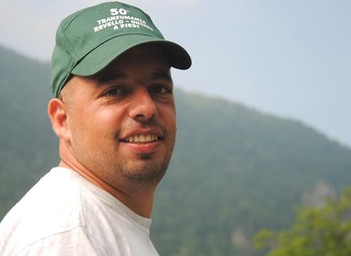 Daniele Mattio, candidato alla Presidenza della Comunità delle aree protette del Monviso, che per un voto non ha ottenuto la maggioranza