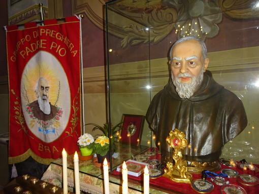 Bra, Fratini e Gruppi di preghiera festeggiano Padre Pio, simbolo di cristianità dei nostri giorni