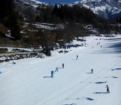 Le piste da sci di Entracque