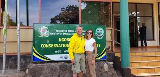 Anche nel Parco di Ngorongoro leggono Targatocn... e voi?