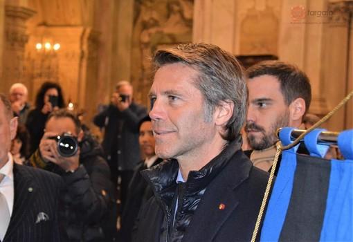 """""""Lavoriamo al ritorno in Italia delle salme di Umberto II e Maria José"""": l'annuncio di Emanuele Filiberto di Savoia a Vicoforte (FOTO e VIDEO)"""