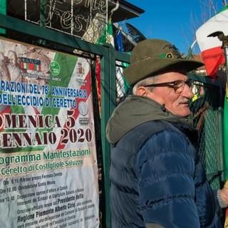 77 anni fa l'eccidio del Ceretto: Costigliole Saluzzo e Busca si fermano per riflettere sulla tragedia