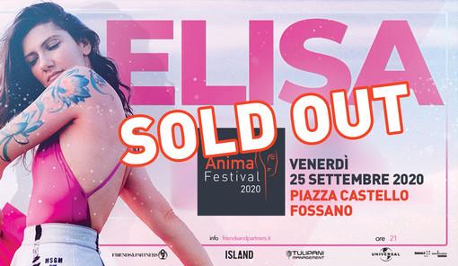 Elisa a Fossano, cresce l'attesa per il concerto