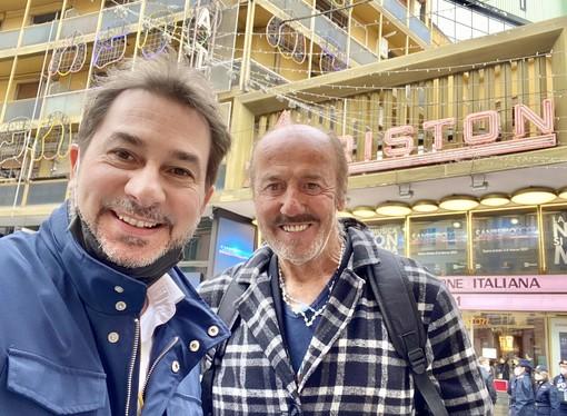 Enio Drovandi con Gian Maria Aliberti Gerbotto