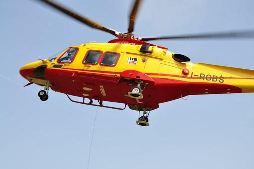Incidente in un cantiere a Barge: ferito un operaio di 47 anni