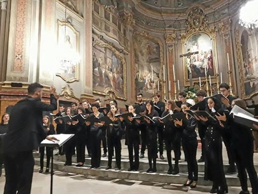 Tra i venti appuntamenti dell'Ensemble vocale del Conservatorio di Cuneo, due concerti a Pramollo e Cuneo
