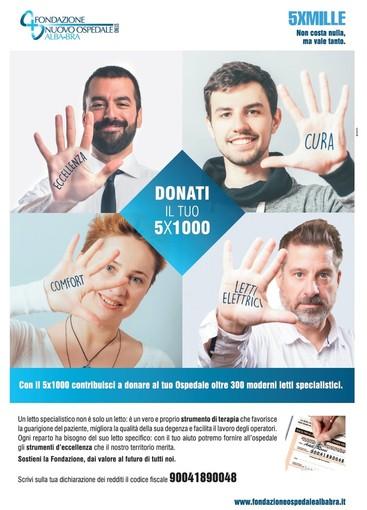 I cuneesi sono tra i più generosi d'Italia: cresciute del 20% in un anno le donazioni a favore dell'ospedale di Verduno