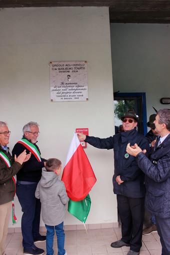 Ceriolo: anche le nuove generazioni alla festa del gruppo alpini locale