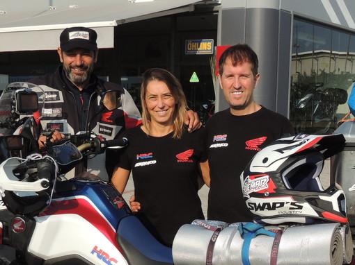 Motori: il centauro del Bemar Racing Team Franco Franco Ballatore è sbarcato in Israele