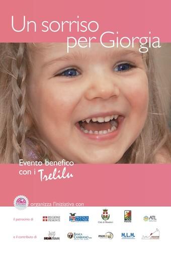 """Mondovì, torna il concerto benefico """"Un sorriso per Giorgia"""""""