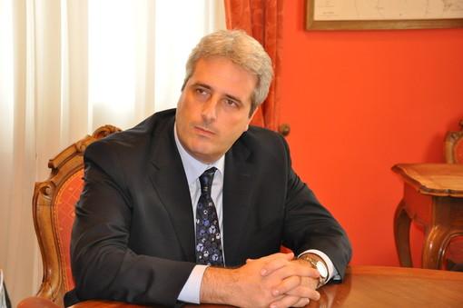 Il sindaco di Cuneo Federico Borgna