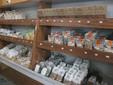 La pasta in vendita sugli scaffali