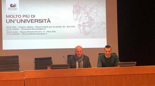 Carmine e Vincenzo Maffettone, direttori delle sedi Pegaso di Bra e Alba