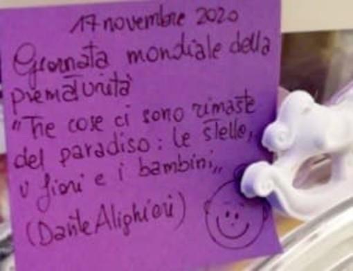 Da Cuneo a Dronero, il colore viola ci ricorda che è la giornata mondiale della prematurità (VIDEO)