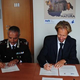 """Carabinieri Forestali e ARPA insieme per una montagna più sicura: """"Lavoro comune per aumentare il senso di sicurezza di escursioni, abitanti e turisti"""""""