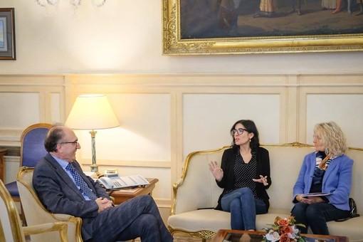 L'incontro nell'ufficio del ministro Dadone