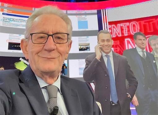 Da Rai 3 a Mediaset, maratona e terno in TV di Beppe Ghisolfi