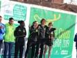 Giulia Montagnin, terzo posto agli Italiani di Cross  2019 a Venaria  con le compagne di squadra Lorenza Beccaria, Michela Bertrando, Mina El Kannoussi e Ayele Mereset Engidu