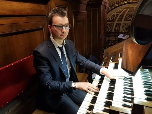 L'organista albese Gabriele Studer