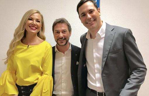 Gian Maria Aliberti Gerbotto su Canale 5 dalla Panicucci